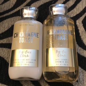 Bath & Body Works champagne toast set NWT